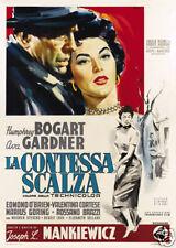 The barefoot contessa Humphrey Bogart movie poster