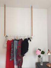 INDIVIDUALISIERBAR Design Hängende Kleiderstange Kleiderständer Deckenhalterung