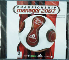 ** Championship Manager 2007 ** PC CD GAME ** Brand new Sealed Football CM **