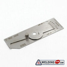 V-Wac Welding Gauge weld Biting Edge Undercut Gage METRIC