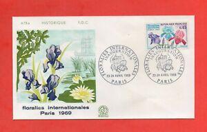 FDC 1969 - Floralies Internationales PARIS 1969   (1694)
