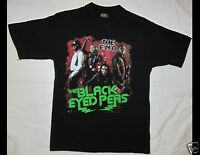 THE BLACK EYED PEAS The End Tour 2010 Size Medium Black T-Shirt