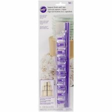 Wilton Plastic Support Dowel Rods Cake Construction Baking Decorating Tool 14 Pc