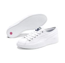 PUMA Women's Love Canvas Sneakers 372411-01 White