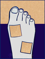 MOLESKIN 9 SHEETS—x3 • 3Pks Blister Corn Callus SuperSoft Padding Protects Feet