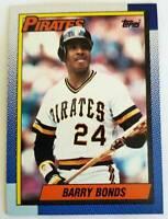 Barry Bonds Topps 1990 MLB Trading Card #220 Pittsburgh Piirates