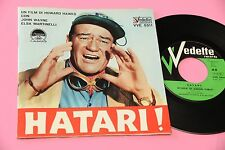 L. SCIASCIA EP DAL FILM HATARI ORIG ITALY OST '60 NM COPERTINA APRIBILE E LIBRET