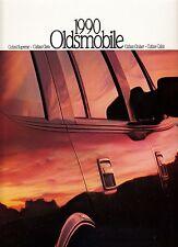 OLDSMOBILE Cutlass Supreme Ciera Cruiser Calais Prospekt 27x31cm USA 1990 ++++++