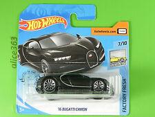 Hot Wheels 2020 - ´16 Bugatti Chiron - Factory Fresh - 89 - New Original