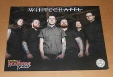 White Chapel Tour Poster Original Promo 24x18