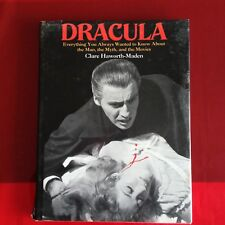 DRACULA - THE MAN, THE MYTH, THE MOVIES  1992 Crescent US  HC/DJ  Photos, 96 PGS
