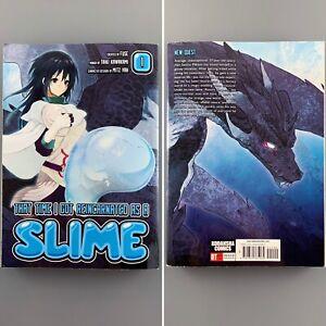 That Time I Got Reincarnated as a Slime Volume 1 - FIRST PRINT Manga English