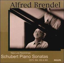 Schubert Piano Sonatas, D575 894 959 960 2CDs 2001 Philips FAST FROM USA SHIP