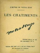 LES CHATIMENTS  VICTOR HUGO ROUFF 0000 L'OEUVRE DE VICTOR HUGO