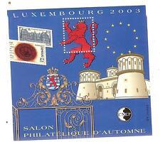 BLOC CNEP N° 39 SALON D'AUTOMNE PARIS 2003