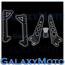 "50"" LED Light bar Windshield Mount+10"" Hood Brackets for 07-17 Jeep JK Wrangler"
