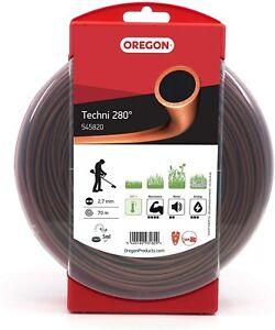 OREGON TECHNI 280 HEAVY DUTY BRUSHCUTTER STRIMMER LINE 2.7mm x 70metres 545820