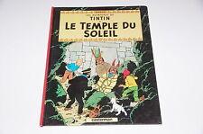 Tintin Le temple du soleil C8 / Hergé // Casterman