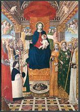 C1980's Art Card 'La Madonna in Trono con Angeli e Santi' Ambrosiana, Milan
