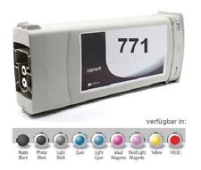 Tinta para HP Designjet Z6200 / Nr. 771 B6Y12A CE042A Light CIAN UV Cartucho De