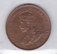 CB75) Australia 1932 Penny, choice uncirculated, with full original lustre