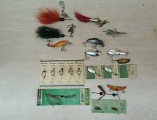 Vintage fish fishing lures dixie Williams a.l & w