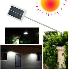 ECO 12 LED Solar Powered Wall Street Light Garden Lamp Outdoor Road Pathway