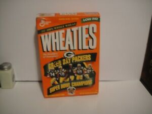 1997 GREEN BAY PACKER AUTOGRAPHED WHEATIES BOX SIGNED AUTOGRAPH Reggie White