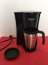 black and decker brew n go Single Cup Coffee Maker