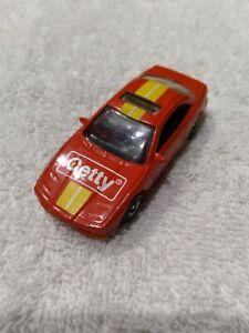 Hot Wheels Getty Red BMW 850i Mattel 1990 Promo