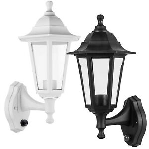 Wall-Mounted Lamp Outdoor Garden Light with Night and Day Sensor