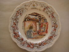 Royal Doulton Winter Series Of 4 Seasons Plate, Bramlby Hedge Gift Collection
