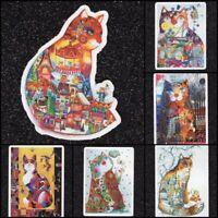 Lot of 8 Cat Vinyl Stickers
