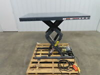 "American Lifts Electric Lift Table 2000 lb 115V 1PH 6""-43"" 24""x48"" Top"