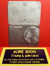 Unstoppable The Persuaders PRINTER PLATE PAIR Base Card NUMBER 5