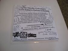 The Timothy Cook Singers/ Love Ballad To Barbara Dollarhide/ 1993/ SIGNED