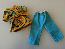 """Vintage Betsy McCall Doll Clothes """"Sweet Dreams"""" Tunic Blue Pants Outfit 8"""" Vg"""
