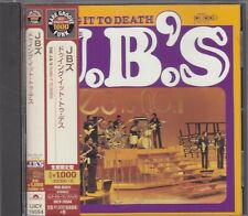 THE J.B.'S - doing it to death CD japan edition