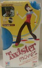2006 Milton Bradley Twister Moves Portable Jesse Mccartney NIB 2 CDs 2 Mats Box