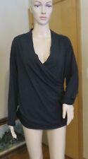 Women's Standard James Perse black long sleeve shirt blouse size 3 new NWT $165