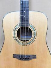 Klema K200DS Acoustic Guitar + Gig Bag + Strings