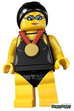 Lego 8831 Minifigur Serie 7 #01 Schwimmchampion Neu und ungeöffnet / New/Sealed