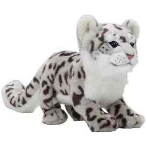 Snow Leopard Plush Soft Toy Cuddle 29cm Teddy Children's Snuggle Cute Pet Cat UK