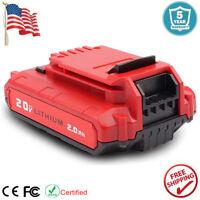 For PORTER CABLE PCC685L 20V 20Volt Lithium Ion PCC680L PCC790L Cordless Battery