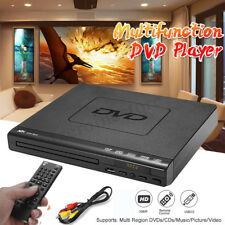 1080P DVD Player Remote Controller Multi-angle Viewing USB DVD-RW +HDMI Cable