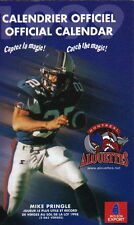 1999 MONTREAL ALOUETTES CFL FOOTBALL SCHEDULE -  FRENCH  AND ENGLISH