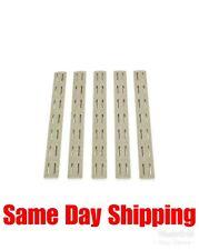 Bravo Company BCMGunfighter 5.5 inch Keymod Rail Cover 5 Pack BCM-KMR-RP-FDE-5