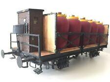 Güterwagen Säuretopfwagen Spur 1 Messing Handarbeitsmodell für Märklin Kiss KM1