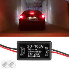 Flash Strobe Controller Flasher Module Box for LED 3rd Brake Stop Lights Lamps