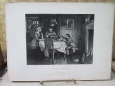 Vintage Print,WATTS FIRST EXPERIMENT,Gallery,British Art.D.Appleton